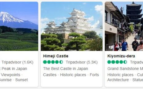 Japan Attractions 3