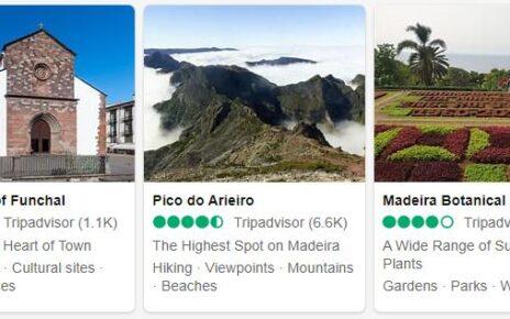 Madeira Sights